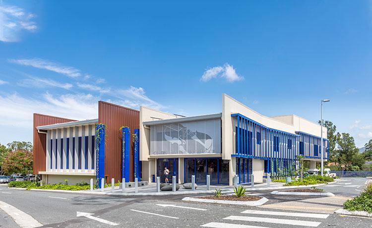 Saint Stephen's College, External Elevation